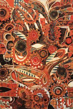 Christmas 1961, Oil on canvas Kriezotou Collection