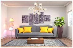 Thỏa sức sáng tạo, tô điểm cho không gian nội thất bằng những bức tranh đẹp với hình ảnh sinh động, đầy màu sắc và thiết kế ấn tượng, độc đáo