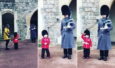 A royally cute salute! Four-year-old boy melts hearts on his birthday