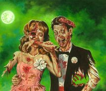 background, zombie, zombies - inspiring picture on Favim.com