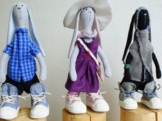Handmade toy Bunny toy Rabbit toy Grey stuffed bunny от ToysK5