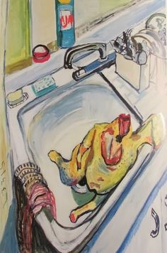 "ALICE NEEL - ""Thanksgiving"" (1965)"