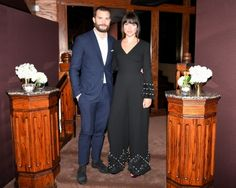 Jamie and Amelia at Charles Finch/Chanel pre-Oscar Awards dinner 25 Feb 2017