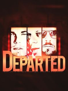 The Departed - Alternative movie poster by Deve09 at DeviantArt #Gangstermovie #GangsterFlick