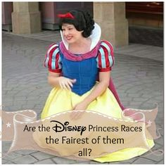 Are the Disney Princess Races the Fairest of them All?