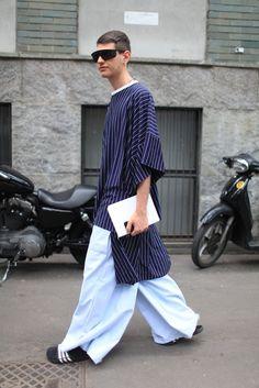 They Are Wearing: Milan Men's Fashion Week Spring 2015 | WWD