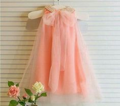 Girl's dresses summer style children's dress fashion baby girls Pure color pearl collar Tutu Princess Dress for kids clothing Fashion Kids, Little Girl Fashion, Womens Fashion, Toddler Girl Dresses, Little Girl Dresses, Girls Dresses, Summer Dresses, Flower Girls, Flower Girl Dresses
