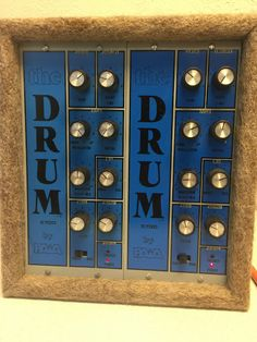 """Wow - I haven't thought the word """"Paia"""" for a few years now... Paia 5700 analog drum synthesizer"""