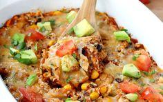 Skinny Enchilada Casserole | Recipe