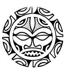 maori tattoos for men Maori Tattoos, Sun Tattoo Tribal, Hawaiianisches Tattoo, Tiki Tattoo, Sun Tattoos, Marquesan Tattoos, Tribal Sun, Samoan Tattoo, Sleeve Tattoos