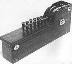 The #calculating #machine of #ThomasHill