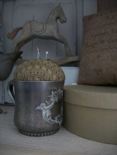 Our Pioneer Homestead: Quick Primitive Craft / Gift idea Of The Day~ no sew!!!