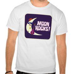 The Moon Rocks Cartoon Tee Shirt