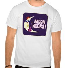 The Moon Rocks Cartoon Tee Shirt