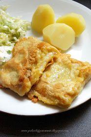 Pokochaj gotowanie: Ryba w cieście curry Fish Dishes, Seafood Dishes, Main Dishes, Kitchen Recipes, Fish Recipes, Macaroni And Cheese, Good Food, Dinner Recipes, Food And Drink