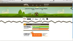 Toasted Digital - Website design using drawings and illustration Website Header Design, Website Layout, Website Ideas, Amazing Website Designs, Cool Designs, Online Portfolio, Portfolio Design, Creation Web, Web Design Examples
