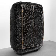 maarten baas' carapace collection at carpenters workshop gallery defined by bronze patchworks