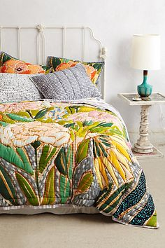 Anthropologie Europa Witherbee Quilt