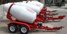 concrete and concrete cart rental Work Trailer, Trailer Plans, Trailer Build, Utility Trailer, Dump Trailers, Custom Trailers, Heavy Construction Equipment, Heavy Equipment, Resin Bound Driveways