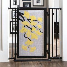 Fusion Gates Indoor Dog & Baby Gate in Autumn Ginkgo