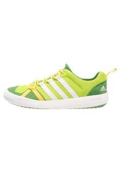 adidas Performance CLIMACOOL BOAT Obuwie do sportów wodnych semi solar slime/chalk white/raw lime
