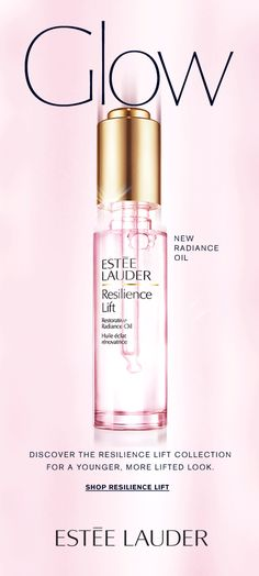 Email Design, Ad Design, Estee Lauder Resilience Lift, Estee Lauder Perfume, Estee Lauder Beautiful, Newsletter Layout, Spa Logo, Cosmetic Design, Design Fields