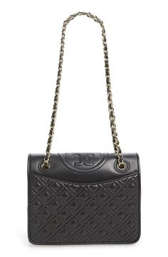 Tory Burch Medium 'Fleming' Leather Shoulder Bag