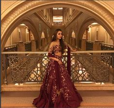 The latest collection of Bridal Lehenga designs online on Happyshappy! Find over 2000 Indian bridal lehengas and save your favourite once. Indian Bridal Lehenga, Indian Bridal Outfits, Indian Designer Outfits, Pakistani Bridal, Indian Dresses, Lehenga Wedding, Desi Wedding, Sari Hindu, Lehenga Designs Latest