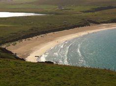 Spiggie Beach in Shetland