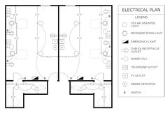 sample electrical plan. Electrical layout, Electrical