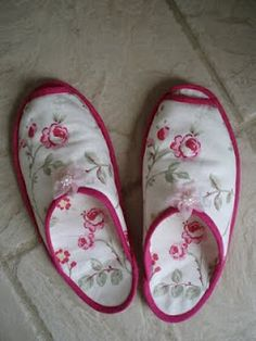 Spa Slippers, the easiest things in the world to sew