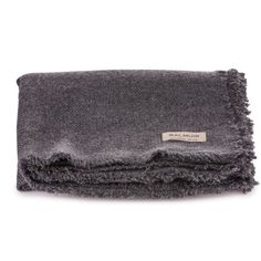 Natural 100% cashmere throw