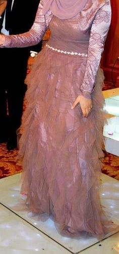 Evening Hijab Dresses – Because Every Girl Loves To Be Dressed Up