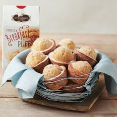 Invisible Chef French Breakfast Puffs | Mixed Bag Designs http://www.mixedbagdesigns.com/Retail-Home/?fundraiserid=441935