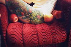 the apple tree by dorotka lesnianska - Tattoo Photography by Dorotka Leśniańska  <3 <3