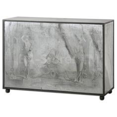 Uttermost Antheia Mirrored Console Table