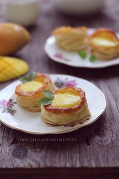 A Taste of Yellow : Monthly Mingle for Barbara Harris Dessert Dishes, Dessert Drinks, Phyllo Recipes, Breakfast Pastries, Beautiful Desserts, Sweet Pie, Eat Dessert First, Sweet Cakes, Desert Recipes