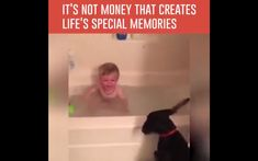 It's not money that creates life's special memories