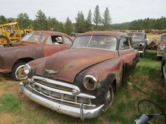 116 Best Old Salvage Yards Images In 2017 Barn Finds