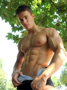 Picture found on : http://musclesworship.tumblr.com/  #sexy #muscles #muscular #men #man #male #ripped #male #muscle #gay #abs #shirtless #hot #model #pecs