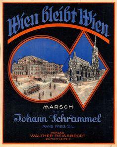 JOHANN SCHRAMMEL - WIEN BLEIBT WIEN - MARSCH - PIANO SOLO