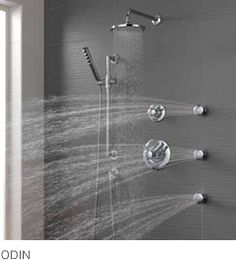 Odin shower system from Brizo