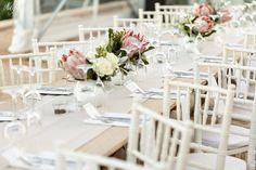 WEDDING | Jake & Jess FLOWERS | Fynbos, king protea, roses PHOTO | Niki M Photography