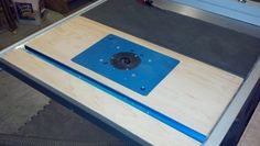 Router Table in Ridgid Tablesaw