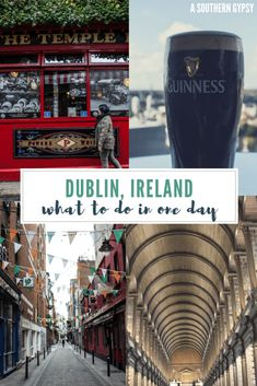 What to Do in Dublin in One Day #Dublin #Ireland #Europe