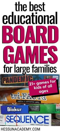 You don't have to be a gameschooling family to enjoy fun and educational board games. Preschool Games, Fun Activities For Kids, Math Games, Games For Kids, Indoor Activities, Games For Middle Schoolers, Really Fun Games, Educational Board Games, Subtraction Games