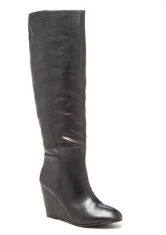 2852bdd461c definitely need new basic black boots Black Wedge Boots