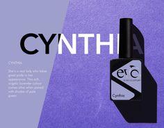 Eén van de nieuwe kleuren paars van Evo. Cynthia, mooi in combinatie met bijvoorbeeld Élégancia. Bio Sculpture, Lavender Color, Evo, Projects To Try, Green, Lavender Colour