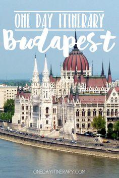 Budapest, Hungary - One day itinerary