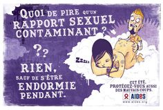 sida (santé sexuelle, été, humour, France, AIDES)